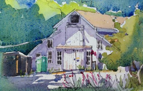 Hidden Villa Barn